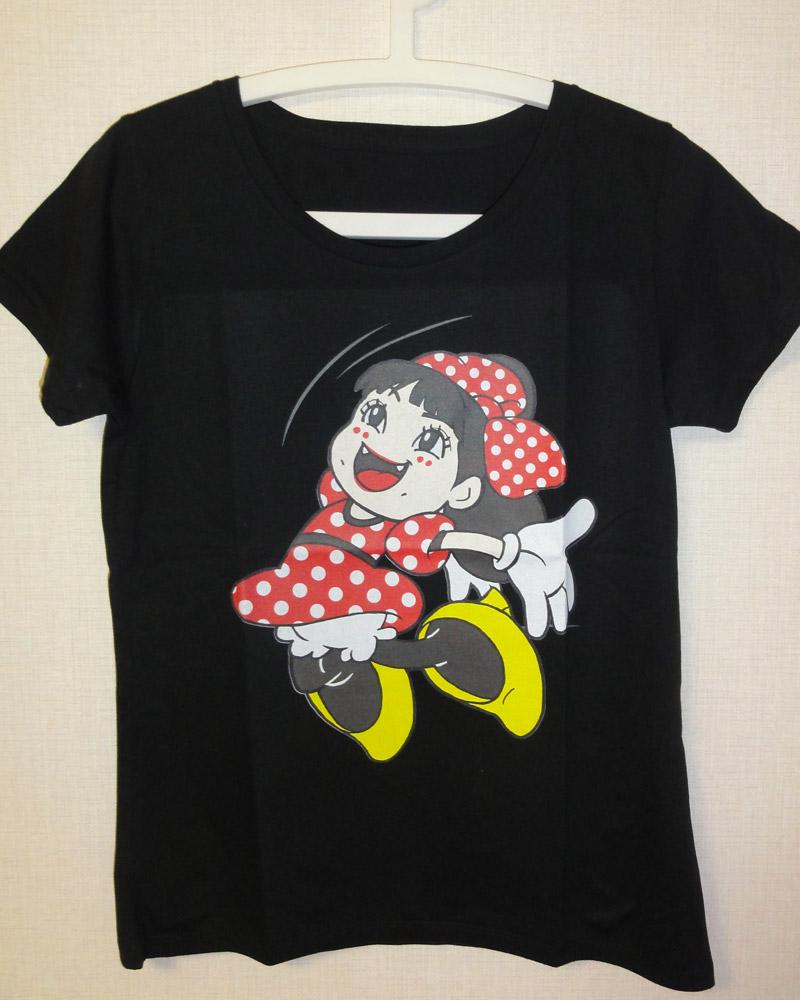 ミニー夏菜子エビぞりTシャツ