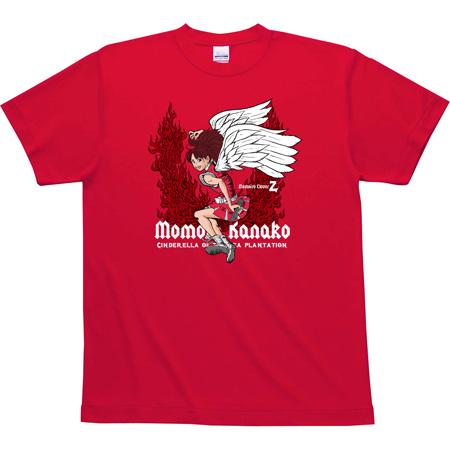 ももクロオリジナルTシャツデザイン(赤地)