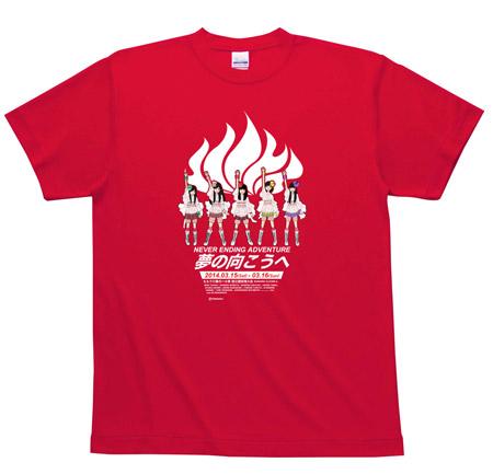 ももクロ春の一大事Tシャツ赤
